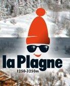 Fotografía del logotipo de La Plagne