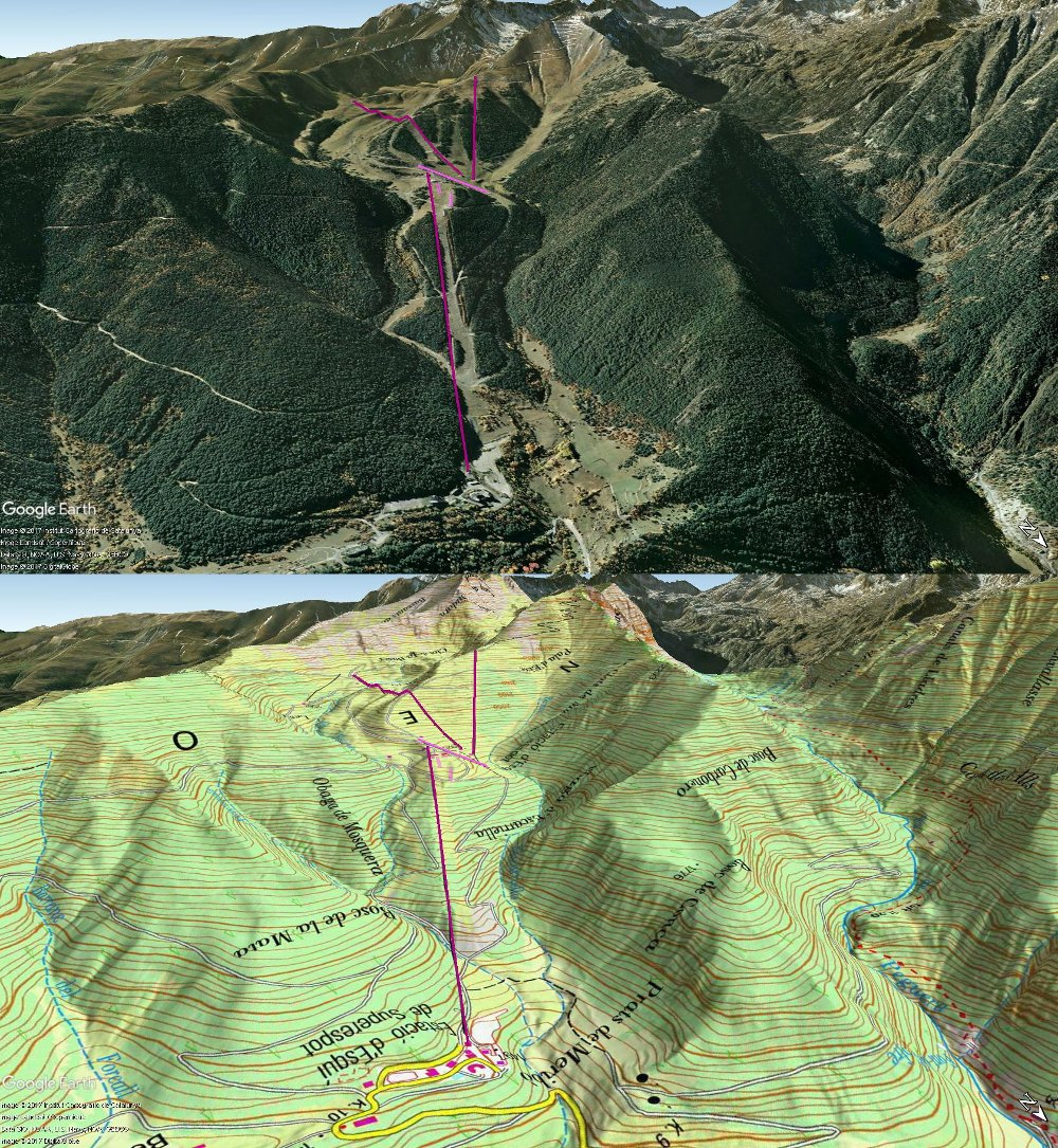 Vistas Google Earth Espot 2017-18