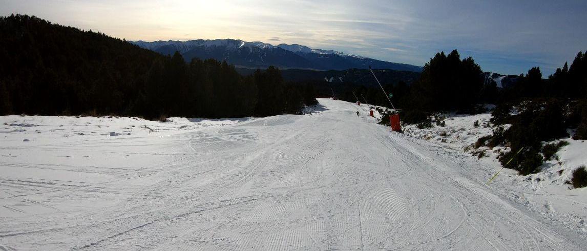 Neiges Catalanes abre más kms de esquí con la apertura de Formiguères