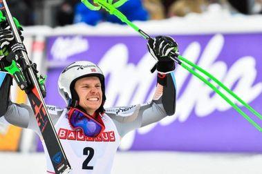 Henrik Kristoffersen gana en Alta Badia y se coloca líder de la Copa del Mundo de esquí