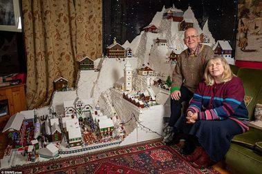 Una estación de esquí construida con.... 400.000 piezas de LEGO!