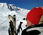 El Abuelo por primera vez en los Alpes