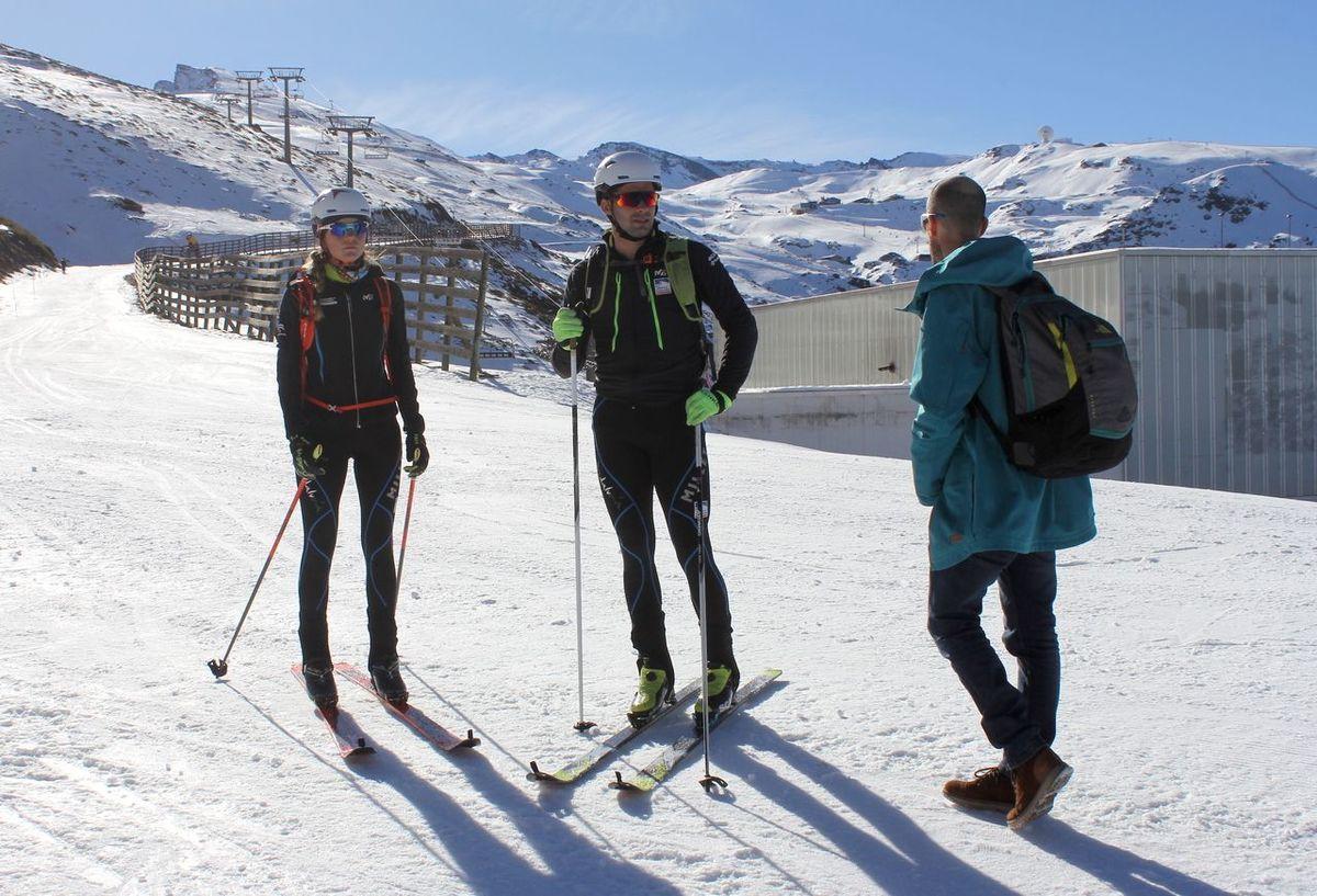 Sierra Nevada esqui montaña