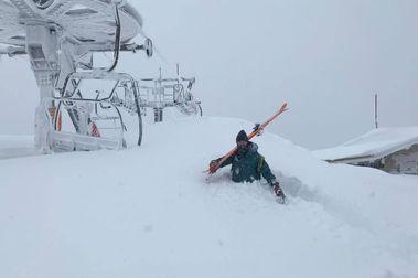 Las estaciones de esquí con más nieve después del temporal Gloria