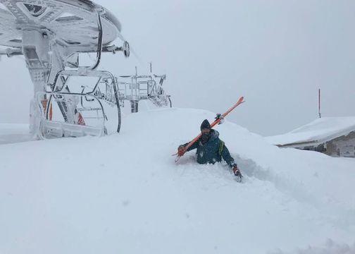 Las estaciones de esquí con más nieve después de Gloria