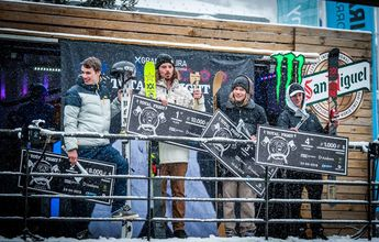 William McRae se adjudica el Grandvalira Total Fight Freeski