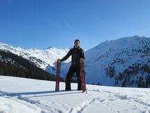 Ascenso en invierno a Gilfert Tirol