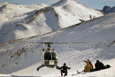 Un snowboarder francés fallece en Candanchú al caer por un barranco