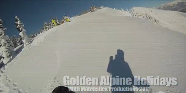Eric Hjorleifson Freeride Touring Helmet Cam Video