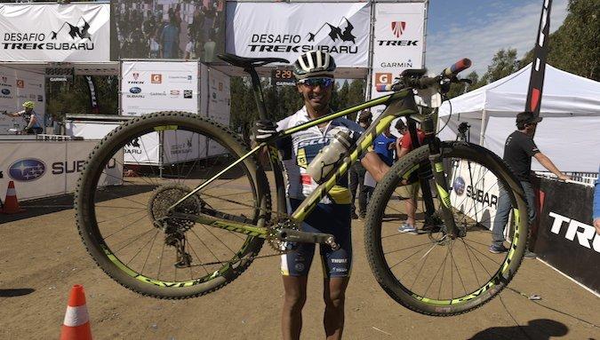 Sebastián Miranda ganó la quinta edición del Desafío Mountain bike Trek Subaru
