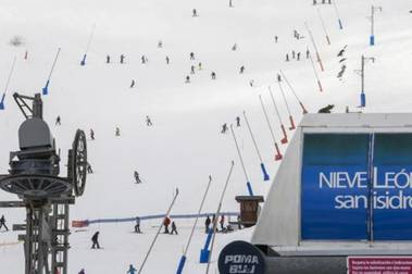 León cierra la mejor campaña de esquí de los últimos 5 años