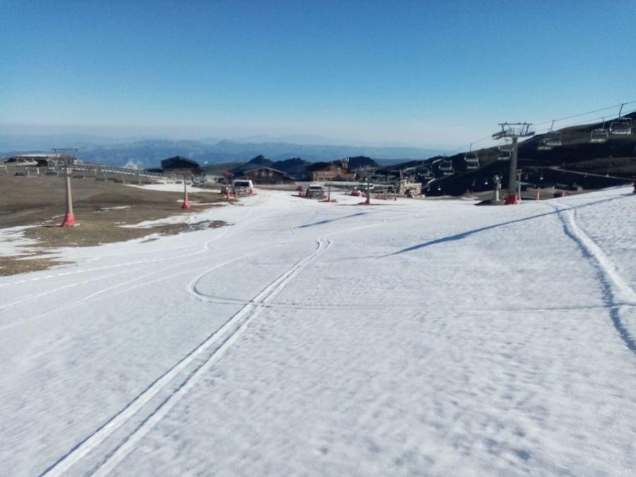 Exprimiendo el esquí de primavera: Elorrieta