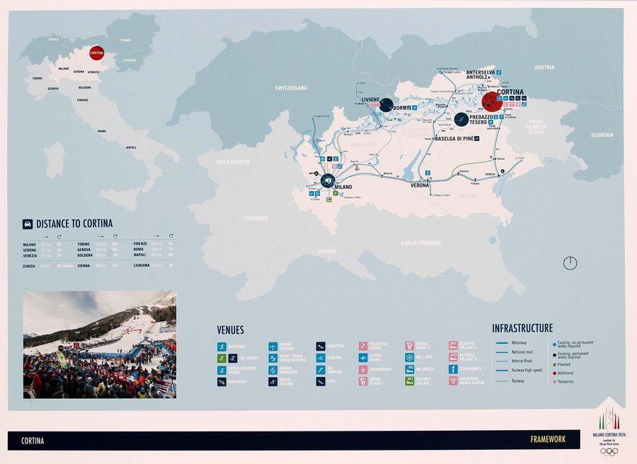 Sedes olímpicas de Milán
