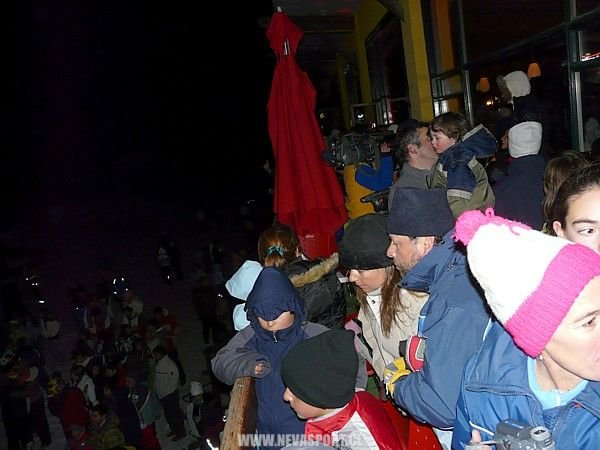 Público de noche