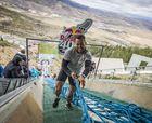 La prueba en un salto de esquí más dificil del mundo