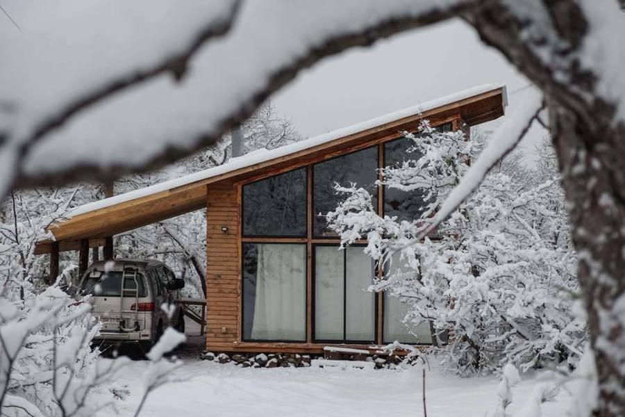 Life in White Cabin Nevados de Chillan