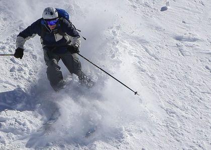 Valle Nevado está excelente