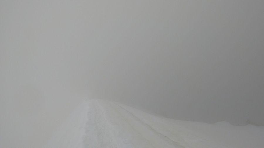 Camino hacia el Montblanc