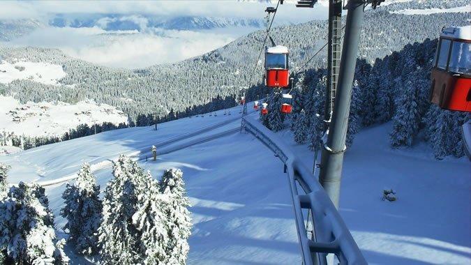 Imágenes de los Alpes tras la nevada
