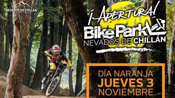 3 de Noviembre abre Bike park de Nevados de Chillán