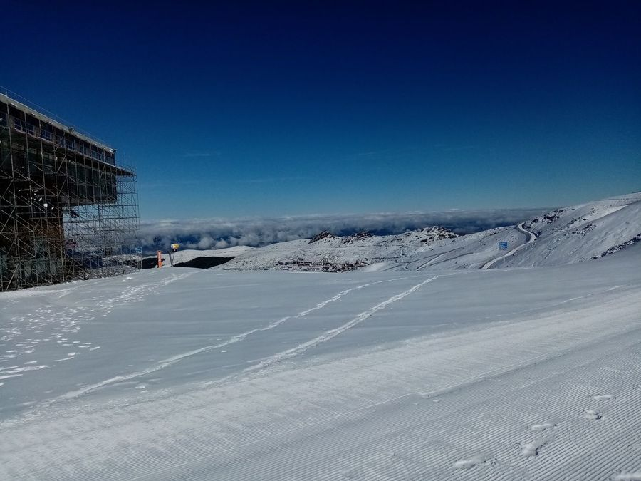 Estrenamos temporada esquiando el Veleta