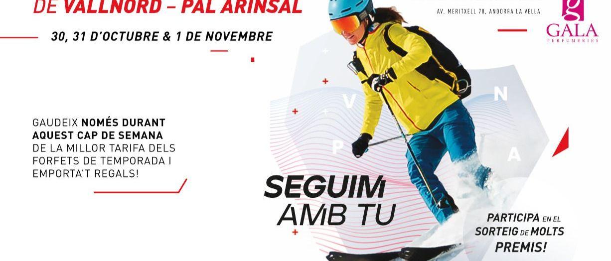 Vallnord – Pal Arinsal organiza su propia feria virtual con beneficios para todos los clientes.