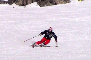 Volver a esquiar después de una lesión