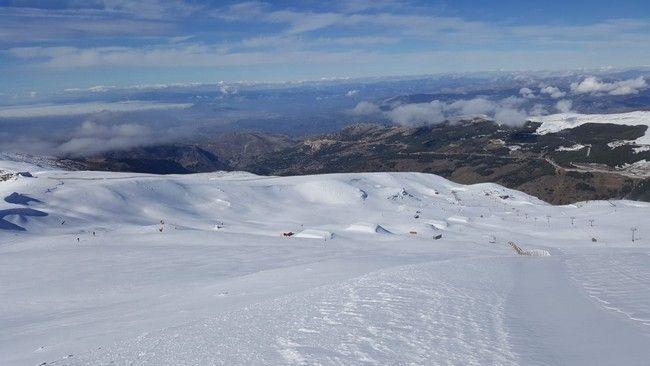 Sierra Nevada dia 1