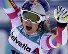 Lindsey Vonn gana el Super-G de Saint Moritz