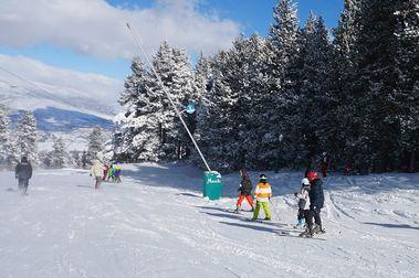 Alp 2500 supera la barrera de los 100 km esquiables este fin de semana