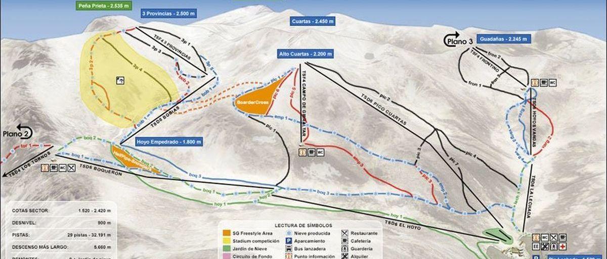 UPL resucita el proyecto de la estación de esquí de San Glorio