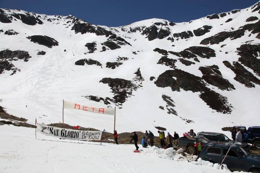 reivindicación estacion esqui en San Glorio