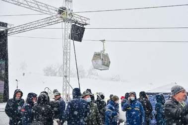 Serbia inaugura el telecabina más largo del mundo