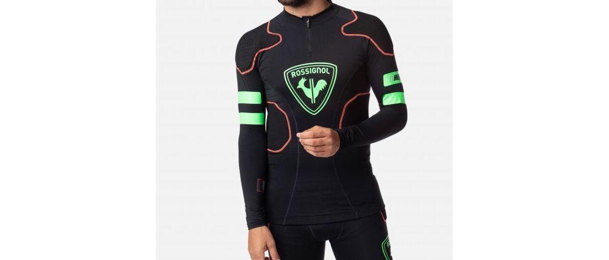 Rossignol diseña ropa interior para esquiadores con protecciones integradas