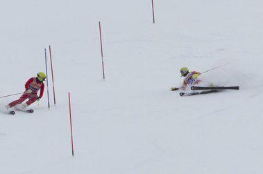 Gabriel Gorce roza las medallas en el Mundial de Esquí Alpino de La Molina