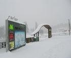 Nieve polvo a placer en las estaciones de Aramón