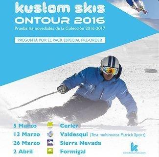 Kustom Skis: dónde y cuando probarlos gratuitamente