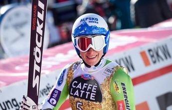 Ilka Stuhec gana el Super-G de Crans Montana
