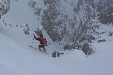 Vermicelli de Cambre d'Aze: uno de los mejores couloirs del Pirineo