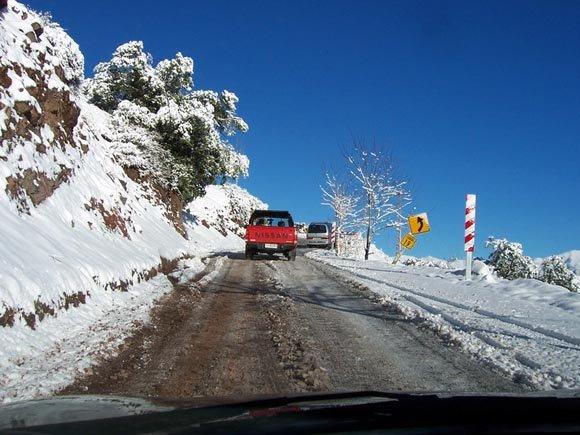 Curva 19, Camino a Farellones