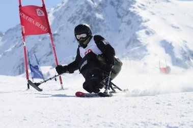 El Equipo de Competición de Esquí alpino adaptado de la Fundación También finaliza su actuación en territorio nacional con el Campeonato de España