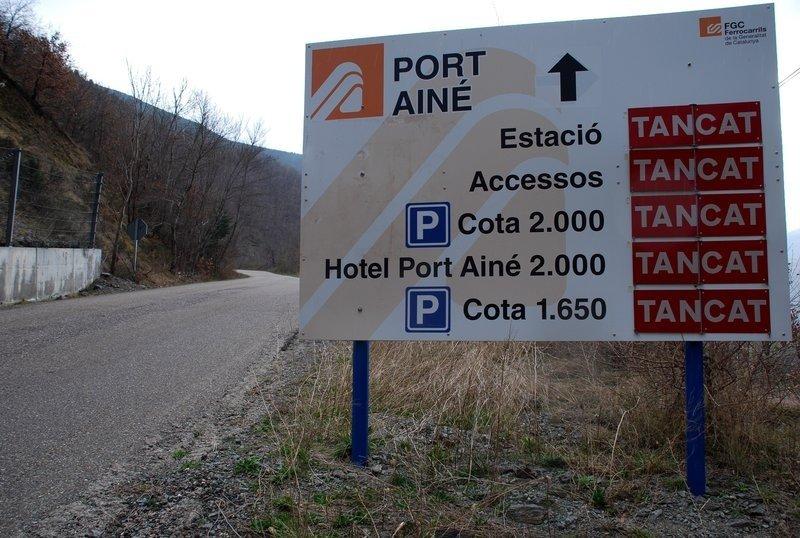 Segueixen els problemes en l'accés a Port Ainé
