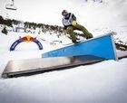 Eric Willett lidera las clasificatorias del Total Fight Snowboard