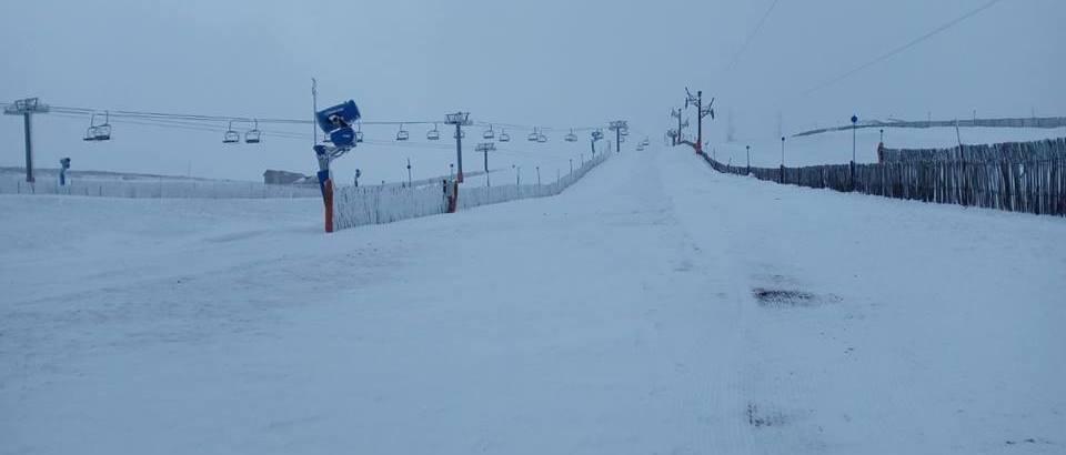 Manzaneda solo ha recibido tres nevadas esta temporada de esquí