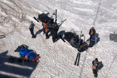 Fallece un snowboarder británico en la estación de Grandvalira