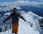Esqui de travesía entre glaciares en BANFF