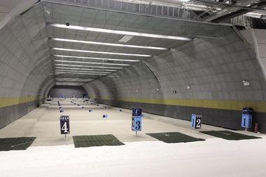 China inaugura una pista de esquí cubierta de 1,3 kms de longitud