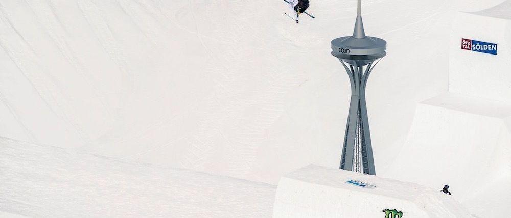 David Wise bate el récord del mundo de altura en un quarter-pipe
