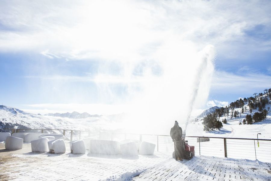 limpieza nieve en Gramdvalira