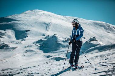 """Carolina Ruiz: """"En España el esquí está considerado un hobby"""""""